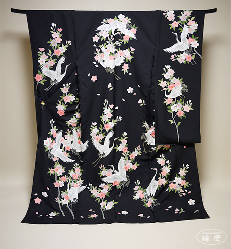 鶴舞桜-色打掛